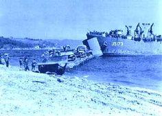 Plage du débarquement - La Croix Valmer - 15 août 1944