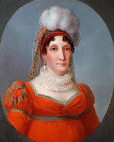 Portrait of Laetitia Raimolini Bonaparte by Francois-Joseph (1771-1839) Kinsoen