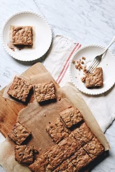 Salted peanut butter and chocolate blondies {Arthur Street Kitchen}