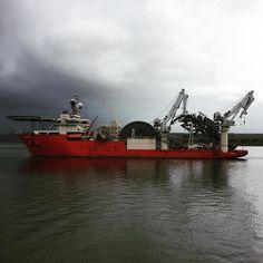 Apache II passing us yesterday #technip #apacheII #offshore #invergordon #scotland #offshorelife #pipelayer #pipelay #cramartyfirth #cromarty by telmccann