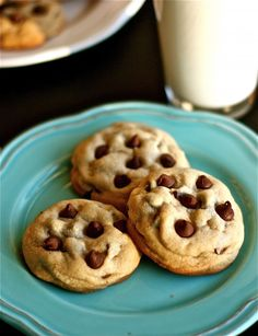 RECIPE:  The BEST Soft & Chewy Chocolate Chip Cookie You'll EVER Make - Pinky Swear!