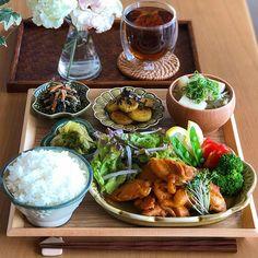 画像に含まれている可能性があるもの:食べ物 Dinner Sets, Food Menu, Palak Paneer, Japanese Food, Bento, Food Porn, Food And Drink, Yummy Food, Meals
