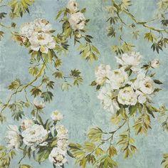 floreale grande - celadon fabric