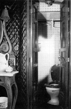 Imperial Train. Which Grand Duchess took a photo of the toilet?  My money is on Anastasia.