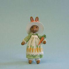 quarter scale bunny doll