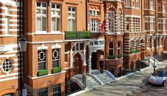 No. 11 Cadogan Gardens, London.  I love boutique hotels like this.