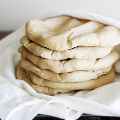 Now it needs to be whole wheat pita wraps and salads and smoothies. And I'm OK with that, as long as it still tastes good. This pita bread definitely fits the bill.