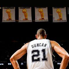 El 18 de Diciembre los Spurs retirarán la camiseta de Tim Duncan. #NBA #Spurs #Basketball #SanAntonio #TimDuncan