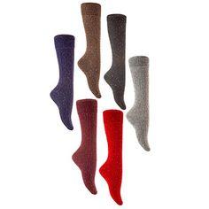 AATMart Women's 6 Pairs Pack High Crew Wool Boot Socks Si... https://www.amazon.com/dp/B076QGNRNN/ref=cm_sw_r_pi_dp_x_sOk9zb5JT587B