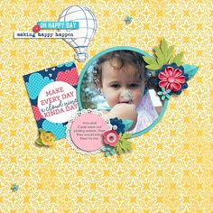 Layout using {On Cloud 9} Digital Scrapbook Kit by Meghan Mullens and Sugary Fancy available at Sweet Shoppe Designs http://www.sweetshoppedesigns.com/sweetshoppe/product.php?productid=35509&cat=876&page=2 #wilddandeliondesigns