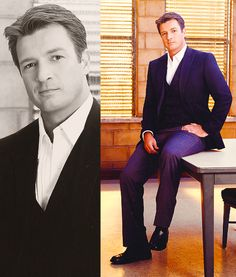 one of the hottest men ever. Gorgeous Body, Beautiful Men, Top Celebrities, Celebs, Nathan Fillon, Malcolm Reynolds, Sherlock Doctor Who, I See Stars, Richard Castle