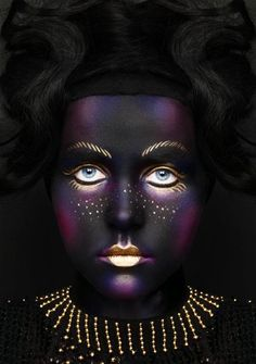 Make-up Artist: Alex Box | Artistic & Editorial #theatre #stage makeup.