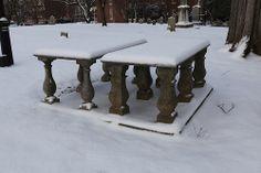 St. John's in the snow