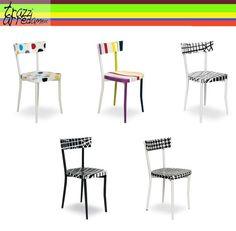 Gioco di #sedie by #seletti. #trazziarredamenti