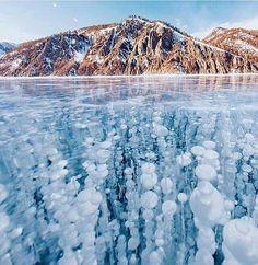 Lake Baikal, Siberia, Russia. #britairtrans