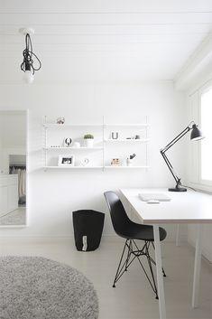 Gorgeous Splendid Monochrome Home Office Decor Ideas To Apply Asap.