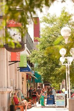 Shoppers delight in St. Joseph's boutiques and galleries.