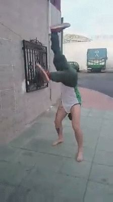 New trending GIF on Giphy. dancing happy dance handstand dancing on hands. Follow Me CooliPhone6Case on Twitter Facebook Google Instagram LinkedIn Blogger Tumblr Youtube
