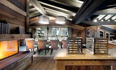 Diseño de Interiores & Arquitectura: Lujo Excesivo Le Petit Chateau en los Alpes Franceses
