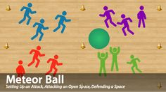 Meteor Ball is a fun net/wall game for your physical education classes. Click through to learn more about the rules, layers, tactics and learning outcomes this game focuses on! #physed