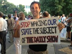 """Yeah, leave that to South Carolina. 
