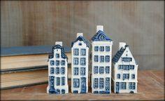 Miniature Houses - Blue Delft - Royal Goedewaagen - Holland