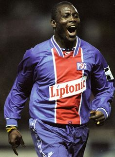 George Weah (Paris Saint Germain)  #Football #Soccer #Idol
