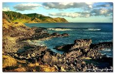 Ka'ena Point...  love it there!  what a beautiful place to camp, too