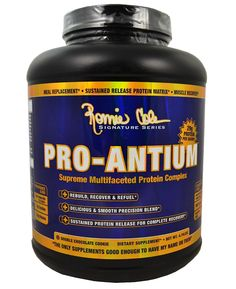 Ronnie Coleman Signature Series Pro-Antium Protein Powder 5lb !  Free Workout Guide l Rock Bottom Fitness
