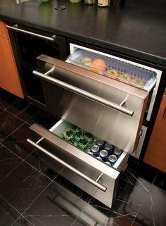 Moderne Küche Kühlschränke Mit Schubladen Design