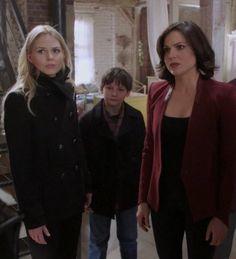 Awesome Regina Henry Emma (Lana Jared Jen) Once S3