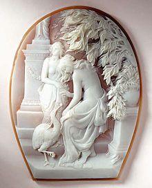 Ascione Cameo 1925 Coral Jewellery Museum - Naples