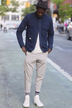 Love the shrunken shirt look. In this case, I would 'prefer it be a shrunken, deconstructed blazer but good overall