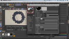 Use Mograph To Clone Onto An Object And Light It With Mixed Source Lighting