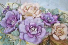 Kartkowy Świat Gosi, handmade flowers