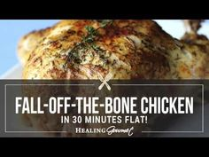 Love fork-tender chicken, but not all the time it takes to prepare? Our fall-off-the-bone pressure cooker chicken takes just 30 minutes! Power Cooker Recipes, Pressure Cooking Recipes, Crockpot Recipes, Chicken Recipes, Pressure Cooker Chicken, Instant Pot Pressure Cooker, Instant Pot Dinner Recipes, Vegan, Fork