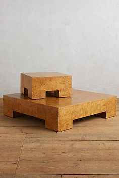Burl Darby Coffee Table - anthropologie.com