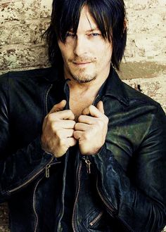 The Walking Dead / Daryl Dixon (actor Norman Reedus). He's so handsome!