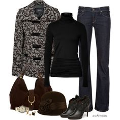 A fashion look from November 2012 featuring jersey shirt, leopard coat and Citizens of Humanity. Browse and shop related looks. Passion For Fashion, Love Fashion, Fashion Outfits, Womens Fashion, Fashion Design, Fashion Ideas, Fashion Tips, Wild Style, Style Me