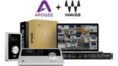 Audio Interfaces von Apogee mit Plugins von Waves - http://www.delamar.de/pressemitteilung/apogee-waves-bundles-29137/?utm_source=Pinterest&utm_medium=post-id%2B29137&utm_campaign=autopost