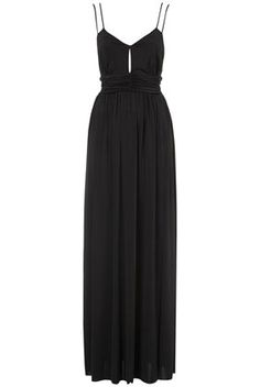 Slinky Triangle Maxi Dress / Top Shop