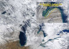 Great Lakes ice cover developing; Earliest in over 40 years