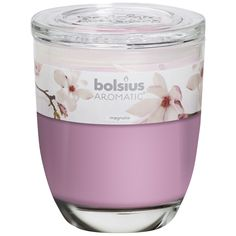 8 x Bolsius Aromatic Wax Melts Scented Candle Burner Fragrance Magnolia