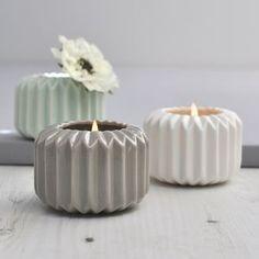 Ori Folded Ceramic Candle Holder