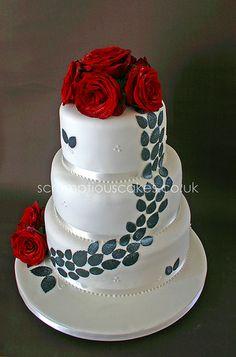 Non Fondant Wedding Cakes - http://www.talenthuntweb.com/non-fondant-wedding-cakes/