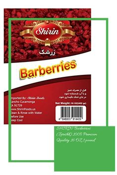 SHIRIN Barberries(Zereshk),100% Premium Quality ,16 OZ, 1 pound