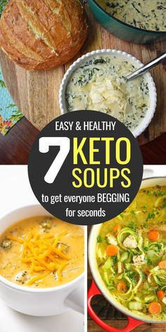 Ketogenic Recipes, Ketogenic Diet, Low Carb Recipes, Diet Recipes, Easy Recipes, Soup With Ground Beef, Chicken Soup Recipes, Keto Chicken Soup, Chicken Meals