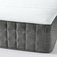 Foam Mattress - Unclear About Furniture? Latex Mattress, Foam Mattress, Ikea Family, Ikea Bed, Bed Base, Mattress Springs, Mattress Covers, Colorful Furniture, Dark Grey