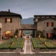 Staying at one of the villas at Castello di Reschio, www.reschio.com, Umbria Italy