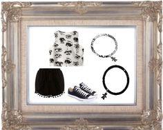 Un #look #casual accompagnato dai #bracciali della linea #passion nelle tonalità del #nero e dell'#argento !